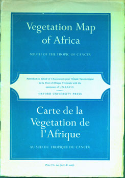 Vegetation Map Of Africa South of the Tropic of Cancer | R. W. J. ...