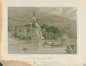 CATTERMOLE, GEORGE - William Tell's Chapel: Lake of Geneva