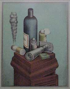 Still Life with Safety Razor. Roy Carruthers.