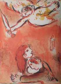 The Face of Israel. Marc Chagall.