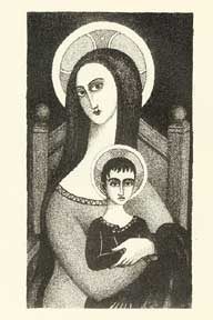 Madonna and Child. Alexis Pencovic.