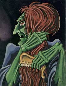 Green Monster. Alexis Pencovic.