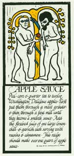 Applesauce from Thirty Recipes Suitable for Framing. David Lance Goines.