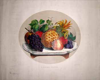 Choice Fruit. Currier, Ives.