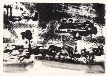 Abstract landscape. Mark Luca.