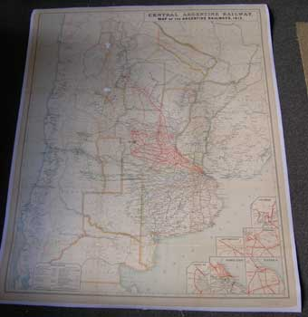 Central Argentine Railway Map Of The Argentine Railways - Argentine railway map