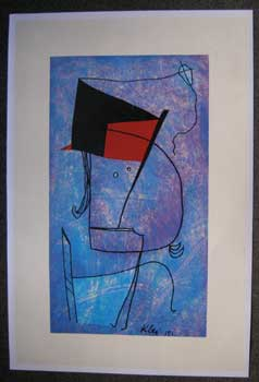 [Abstract Face]. Paul Klee.