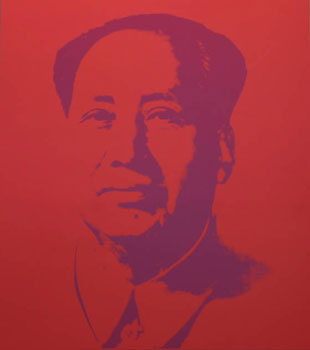Mao in Red. Andy Warhol, After.