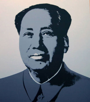 Mao in Gray. Andy Warhol, After.