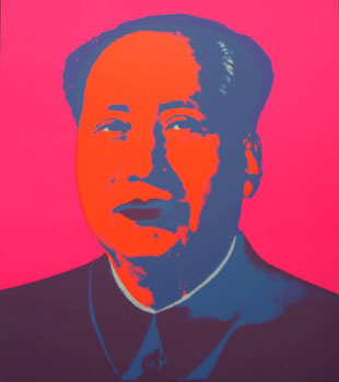 Mao in Pink. Andy Warhol, After.