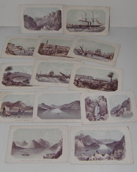 Nautical Views of Loch Katrine, Bombay, Waterfall at Inversnaid, Rob Roy's Cave, Loch Lomond, Malta, Madras, Hong Kong, etc.