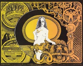 Poco, Siegel Schwall and Wishbone Ash in Concert, March 11-14 and Mark Almond, Commander Cody and Sons of Champlin, March 18-21, 1971 at Fillmore West. Norman Orr, Bill Graham.