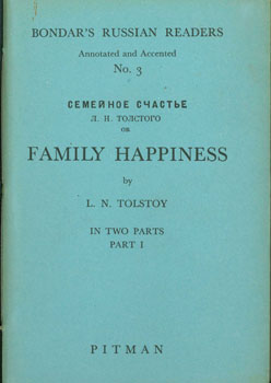 Semeinoe schaste = [Family happiness]. Parts I and II. L. N. Tolstoy.
