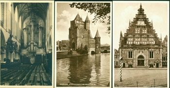 10 Postcards Of Holland, inside envelope. 20th Century European Photographer.