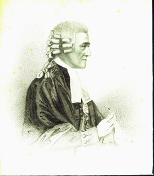 Engraving of Sir Samuel Romilly (1757-1818), British legal reformer.