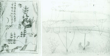 Photographs of works by Paul Klee. Inc Pasquale Iannetti Art Galleries, Paul Klee.