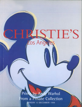 Prints By Andy Warhol From a Private Collector, 13 December 1999. Christie's, Los Angeles.