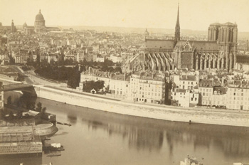 Panorama De Paris. 1900.