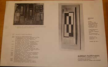 Prospectus for Objekt, 1920 (1968). Pavel. Pavel Andreevich MANSUROV Manssuroff.