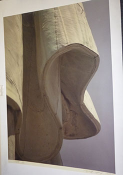"""""""Fold"""" from the Statue of Liberty Series. Original photograph, signed. Jr. Ruffin Cooper."""