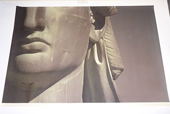 """""""Quarter Face"""" from the Statue of Liberty Series. Original photograph, signed. Jr. Ruffin Cooper."""