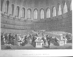 """Reading Room in British Museum."" Maclure, MacDonald."