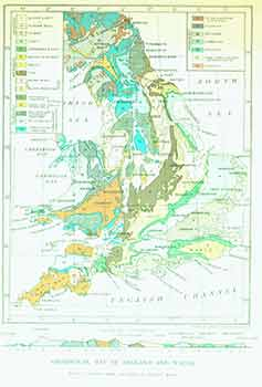 Geological Map of England and Wales with a section from Anglesey to Beachy Head (Map). Cassell, Company.