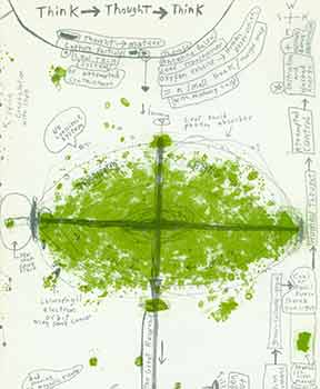 Think, Thought, Think: One Drawing Experiment Book. Pinspot #4. Limited Edition. Rob Craigie, Smart Art Press.