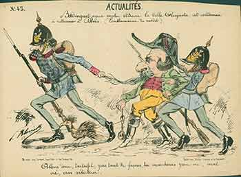 Actualités. (News). 19th Century French Artist.