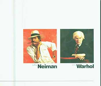 LeRoy Neiman, Andy Warhol: An Exhibition of Sports Paintings. Limited edition. First edition. Diane Kelder.