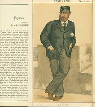 The Prince of Wales; The Prince. Issue No. 262. (Original Lithograph.). Coïdé, July 26 Adriano Cecioni, 1886, 1836 - May 23, Lith.