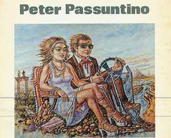 Peter Passuntino: Paintings. March 13 - April 17, 1976. Monique Knowlton Gallery. [First edition.]. Peter Passuntino, Gordon Brown, Monique Knowlton Gallery, text., NY New York.