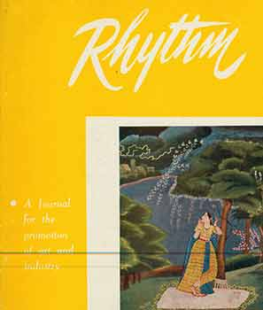 Rhythm: A Journal for the Promotion of Art Industry. Vol. X, No. 3. October Number 1962. Shrimati Asha Mukherjeem.