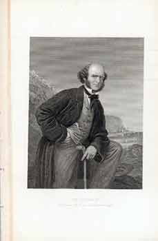 "The Author of ""Tom Brown at Oxford,"" and ""School days at Rugby"". (Engraving). 19th Century American Artist."