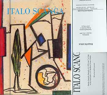 Italo Scanga. (Signed by Peter Selz). Italo Scanga, Michele Bonuomo.