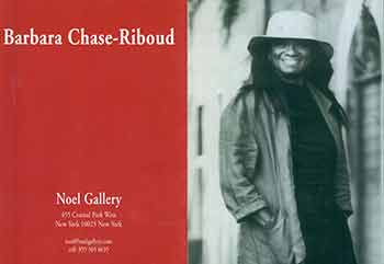 Noel Gallery Celebrates The College Art Association's 2007 Lifetime Achievement Award to Barbara Chase-Riboud. New York, February 17, 2007. Noel Gallery celebrates The Detroit Art Institute's Alain Locke Lifetime Achievement Award to Barbara Chase-Riboud. Detroit, February 18, 2007. [Event brochure]. Barbara Chase-Riboud, Noel Gallery, New York.