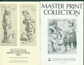 Master Print Collection 1979 and Twentieth Annual Old Master Print Collection 1981. [Two Auction Catalogues]. Associated American Artists, NY New York.