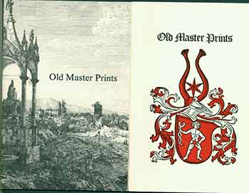 Old Master Print Collection 1987 &1988. [Two Auction Catalogues]. Associated American Artists, NY New York.
