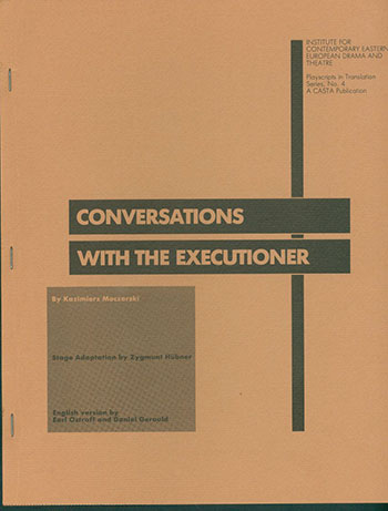 Conversations with the Executioner. K. Moczarski.