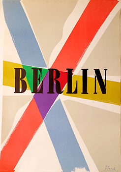 Berlin. Richard Blank, artist.