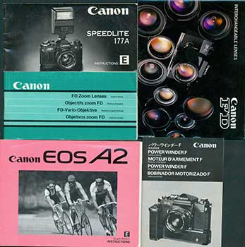 Canon instruction manuals for Speedlite 177A E , the Power Winder