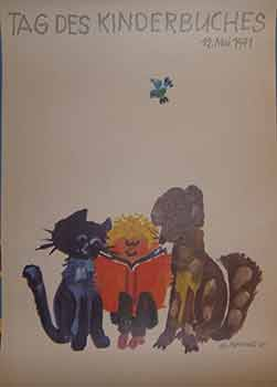 Tag Des Kinderbuches, 12 May, 1971. (Exhibition Poster). G. Rappus.