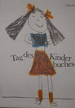 Tag des Kinder Buches, May 9, 1973. (Poster). 20th Century German Artist.
