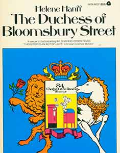 The Duchess of Bloomsbury Street. First Avon Printing. Helene Hanff.