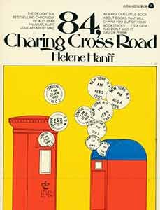 84, Charring Cross Road. First Avon Printing. Helene Hanff.