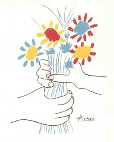 Bouquet Of Flowers Drawing Simple