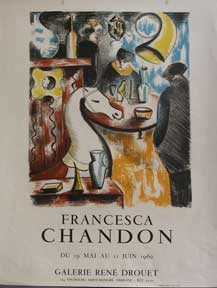 Francesca Chandon Exposition. Francesca Chandon.
