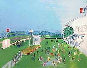 Races at Deauville. Raoul Dufy.