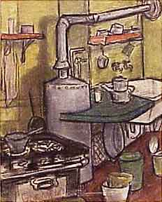 Kitchen Scene. Helen Ludwig.
