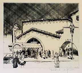 The Brown Derby [Los Angeles]. Mildred Coughlin.